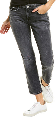 Rag & Bone Dre Low-Rise Slim Boyfriend Jean