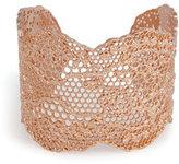 Aurelie Bidermann Rose Gold Lace Cuff