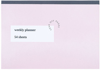Paperchase Order & Purpose Weekly Planner Desk