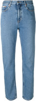 Calvin Klein Jeans fitted straight leg jeans - women - Cotton - 24