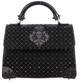 Philipp Plein Small Embellished Weapon Bag