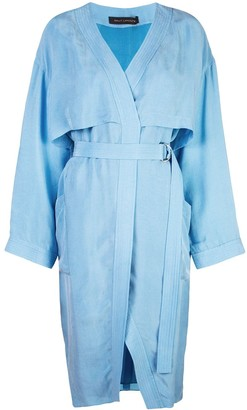 Sally LaPointe Wrap Dress