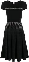 Pinko chain pattern knitted dress