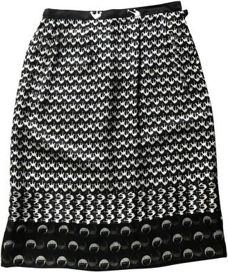 Louis Vuitton Navy Silk Skirts