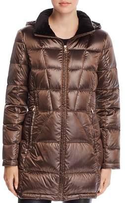 Calvin Klein Packable Shiny Down Coat