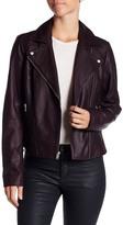Andrew Marc Faith Leather Moto Jacket