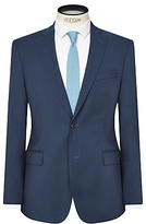 J. Lindeberg Comfort Stretch Wool Slim Suit Jacket, Teal