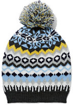 New York & Co. Snowflake Pom-Pom Hat