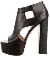 Ruthie Davis Disco Leather Platform Sandals w/ Tags