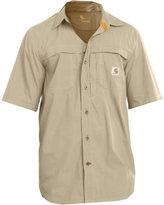Carhartt Men's Force Mandan Solid Short Sleeve Shirt 101178