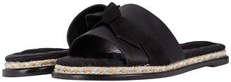 Alexandre Birman Clarita Slide Espadrille (Black) Women's Shoes
