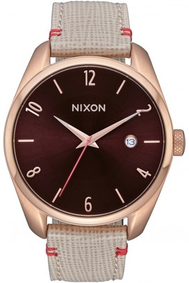 Nixon Ladies The Bullet Leather Watch A473-1890