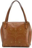 Miu Miu Brown studded shoulder bag