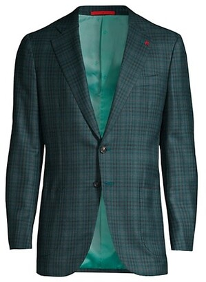 Isaia Delain Selection Check Sportcoat