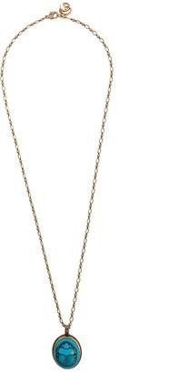 Gucci Beetle Pendant Necklace