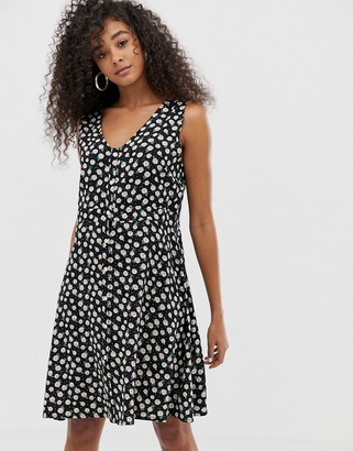 Blend She Jose Floral Print Sleeveless Dress