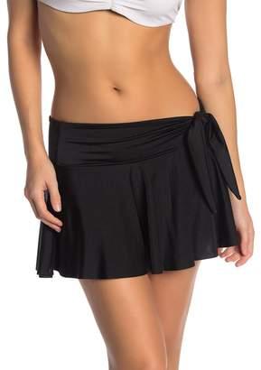 Tahari Tie Front Skirt