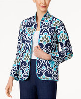 Alfred Dunner Scenic Route Reversible Quilted Jacket