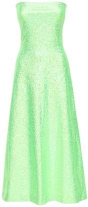 Saks Potts Jepska Shimmer Stretch Jersey Midi Dress