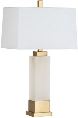 Safavieh Rozella Alabaster 29.5In Table Lamp