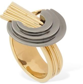 Leda Madera Lvr Exclusive Meryl Bicolor Thick Ring