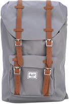 Herschel leather-trimmed canvas backpack