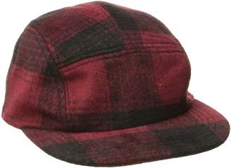 San Diego Hat Company San Diego Hat Co. Men's Plaid Cap Hat with Adjustable Leather Strap