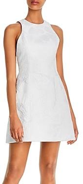 Alice + Olivia Coralia Lantern Dress With Open Back
