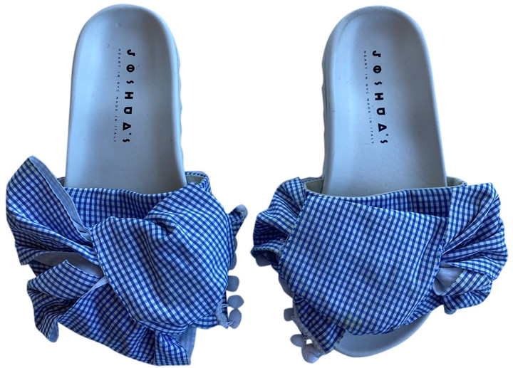 Thumbnail for your product : Joshua Sanders White Cloth Sandals