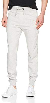 French Connection Men's Classic Sweat Jogger Sports (Grey Mel/Marine 2), W34/L32 (Size: 34)
