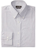 Lauren Ralph Lauren Slim-Fit Tattersall Stretch Dress Shirt