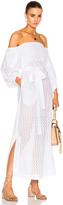 Lisa Marie Fernandez Bubble Sleeve Dress