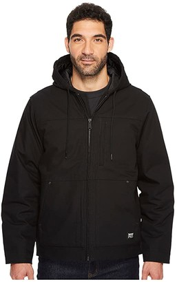 Timberland Baluster Insulated Hooded Work Jacket (Black) Men's Coat