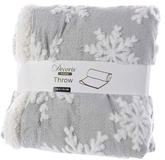 Decoris Pes Snowflake Throw