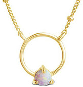 Thumbnail for your product : Sterling Forever 14K Over Silver Pendant Necklace