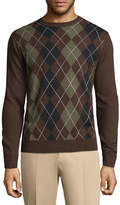 Dockers Crew Neck Long Sleeve Acrylic Pullover Sweater