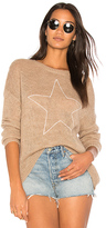 Sundry Star Loose Knit Sweater