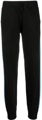 Bella Freud Stripe-Side Track Pants