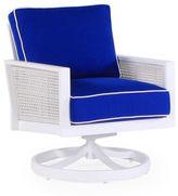 Koverton Parkview Woven Swivel Chair, Blue