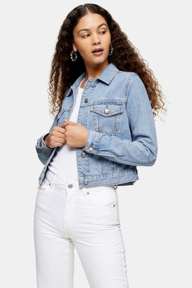 Topshop Slim Fit Denim Jacket