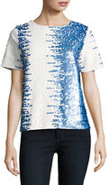 Joan Vass Allover Sequined Top