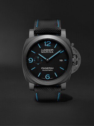 Panerai Luminor Marina Automatic 44mm Carbotech And Sportech Watch, Ref. No. Pam01661