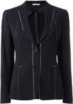 Tonello deconstructed blazer - women - Cupro/Virgin Wool/Polyamide/Polyester - 42