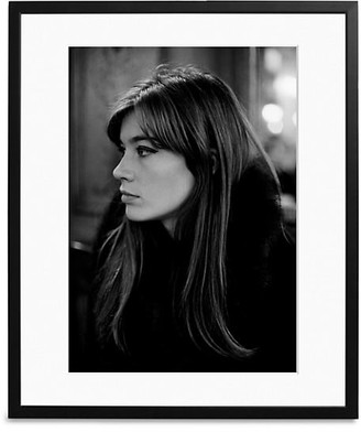 Sonic Editions Large Francoise Hardy In Paris Art Print