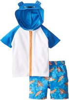 Baby Bunz Baby Buns Baby-Boys Infant Surfs Ruff Cover Up Set