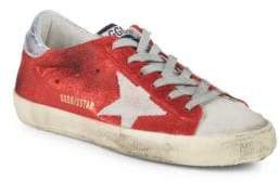 Golden Goose Star Leather Low-Top Sneakers