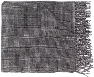 Undercover Plaid Check Scarf