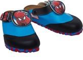 Birkenstock Shetland Birko-Flor Narrow Fit Sandals Marvel Spiderman Blue
