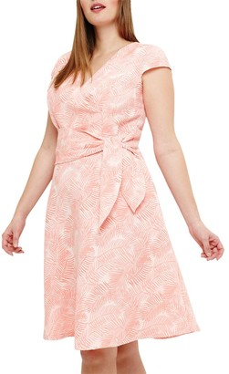 Studio 8 Judy Jacquard Floral Dress, Orange