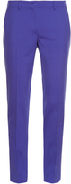 Etro Slim-leg wool-blend trousers